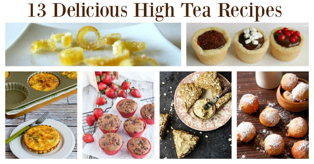 A high tea party is the perfect meal for a special celebration. It is great for mother's day, a baby shower, a special birthday, or just to have a great time with the girls. It can be difficult knowing what food to organize, but these high tea recipes will make that job so much easier for you. Everything you need for that special high tea is here, including suggestions for decoration so all you need to do is prepare and then enjoy.