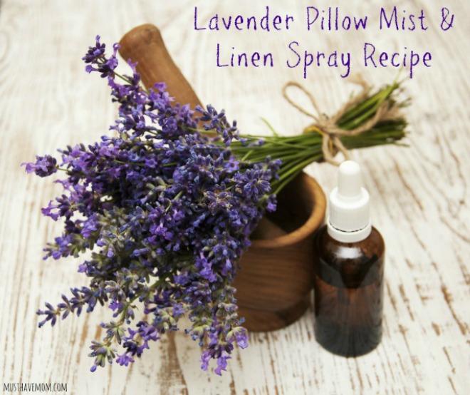 Lavender pillow mist spray