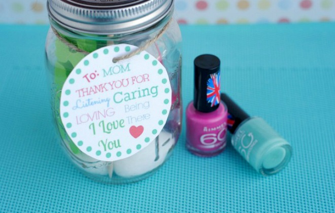 Mothers day jar
