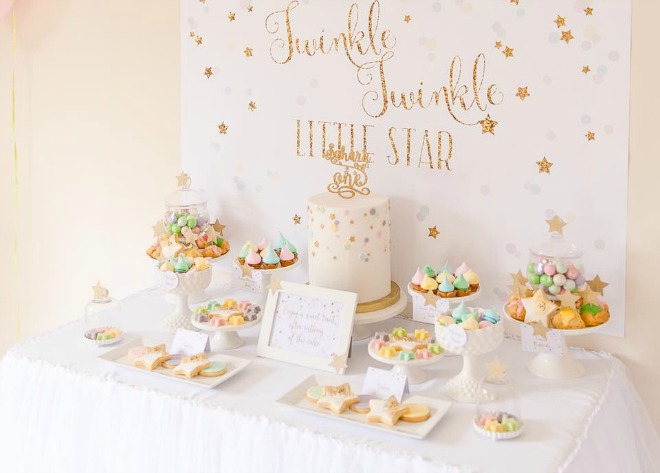 Twinkle Twinkle Little Star Party Table