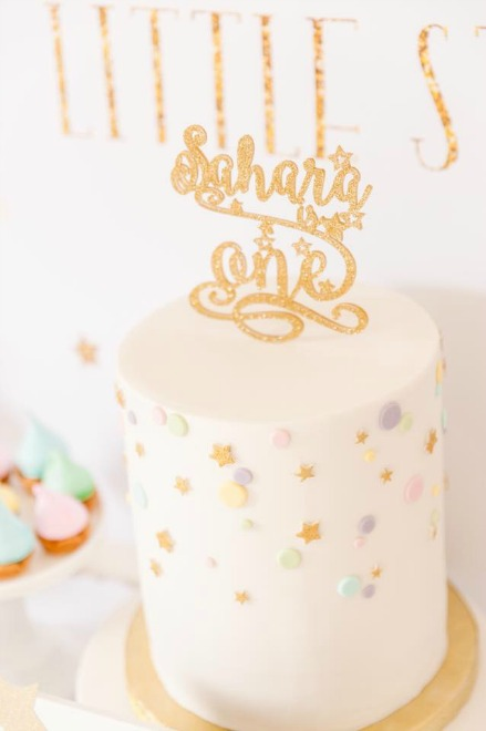 Twinkle Twinkle Little Star Party Cake