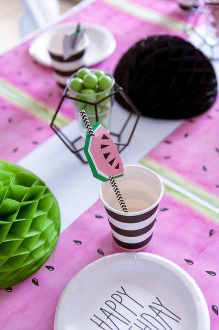 Watermelon straw