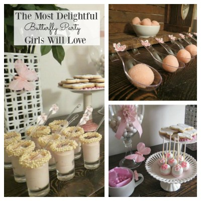 The Most Delightful Butterfly Party That Girls Will Love