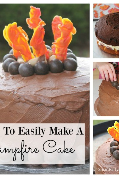 How To Easily Make A Campfire Cake