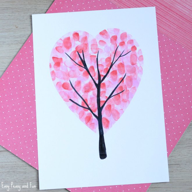 Heart fingerprint tree