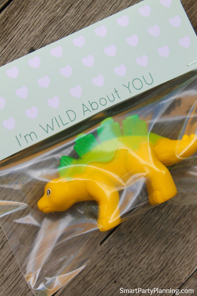 Im wild about you printable bag topper