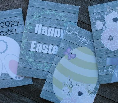Share The Love With 4 Free Printable Easter Cards