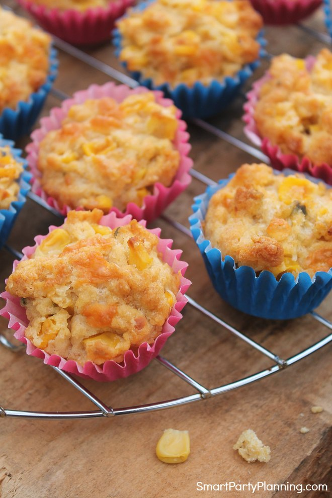 Sweetcorn muffin recipe