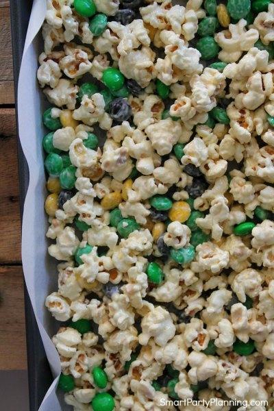 Chunky monkey popcorn