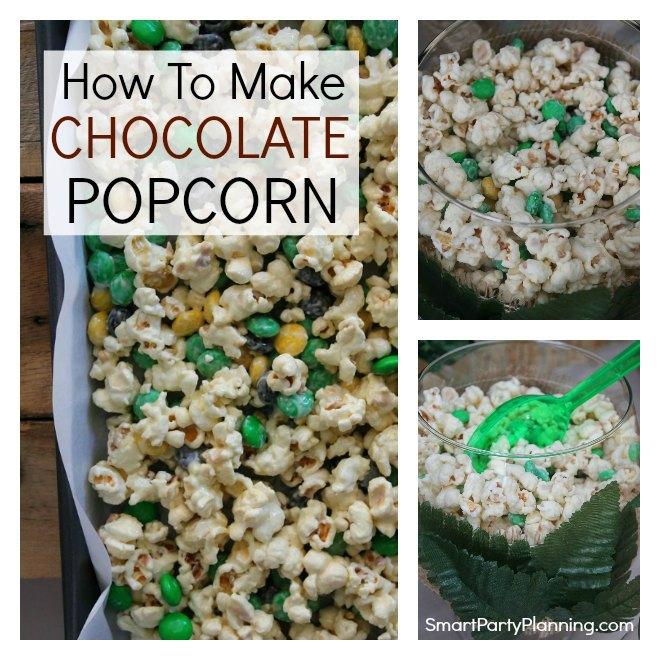 How To Easily Make Chocolate Popcorn