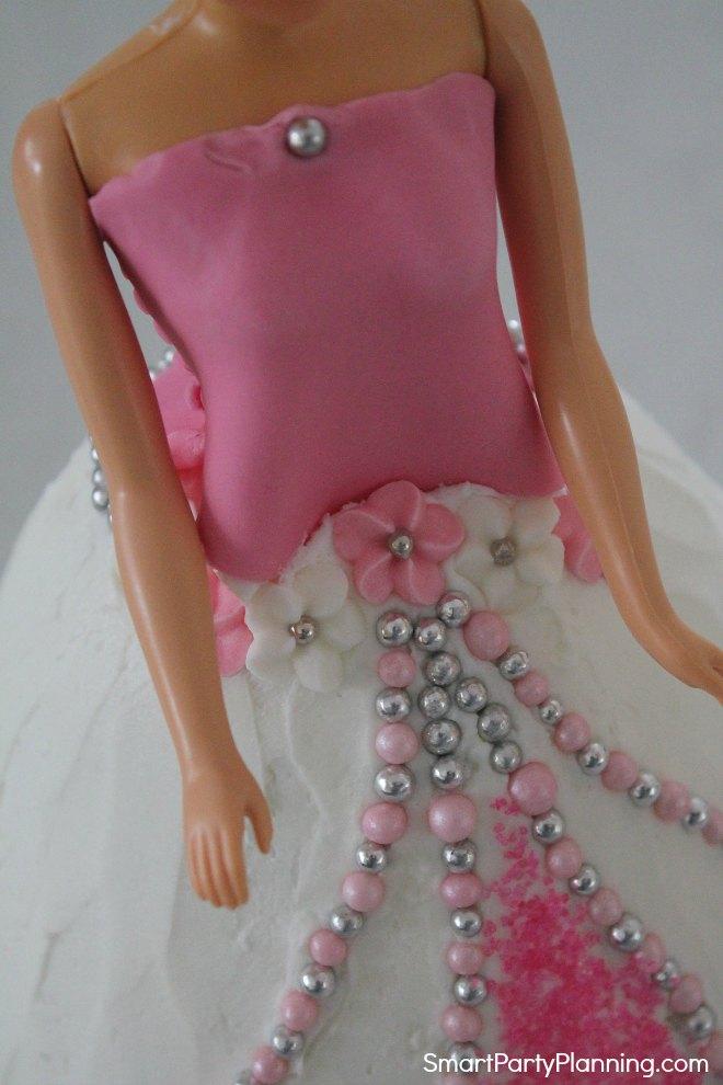 Princess dress decoration
