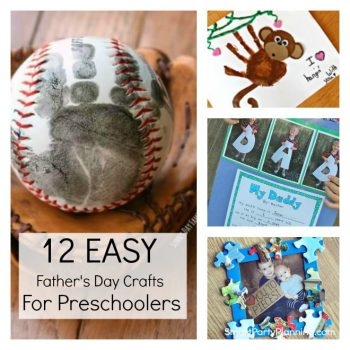 12 Fathers day craft ideas for preschoolers