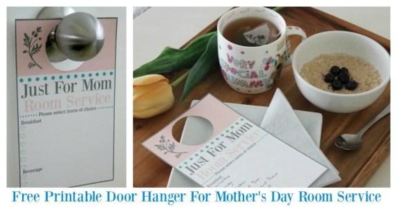 Mother's day door hanger