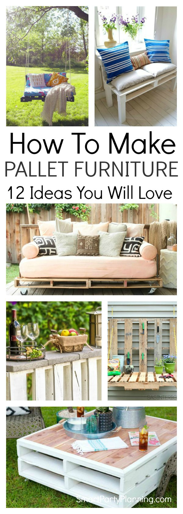 Learn How To Make Awesome Pallet Furniture Ideas With These Simple Step By Tutorials