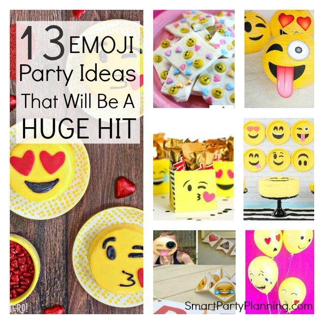 13 Emoji Party Ideas
