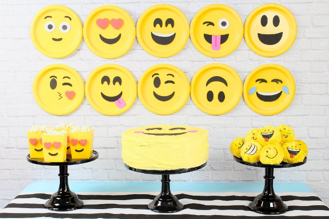Emoji Party Backdrop