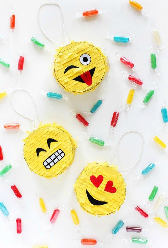 Mini Emoji Pinatas