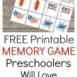 Printable Memory Game