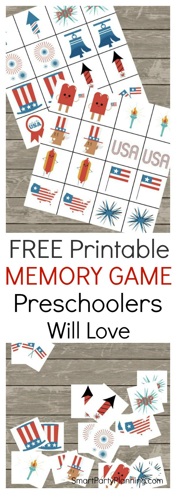 printable memory game that preschoolers will love. Black Bedroom Furniture Sets. Home Design Ideas