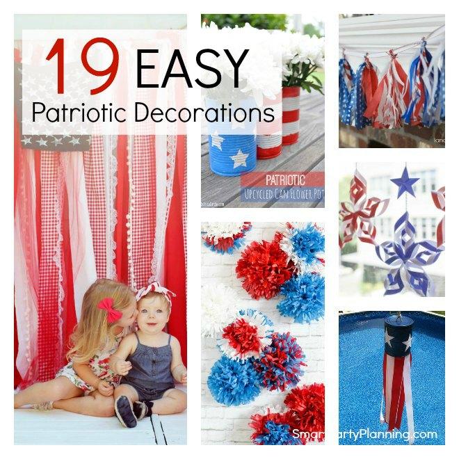 19 Easy Patriotic Decorations