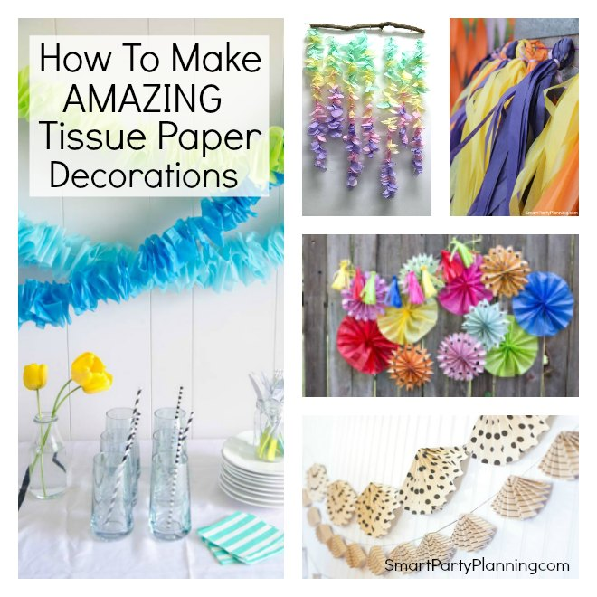 Amazing Tissue Paper Decorations