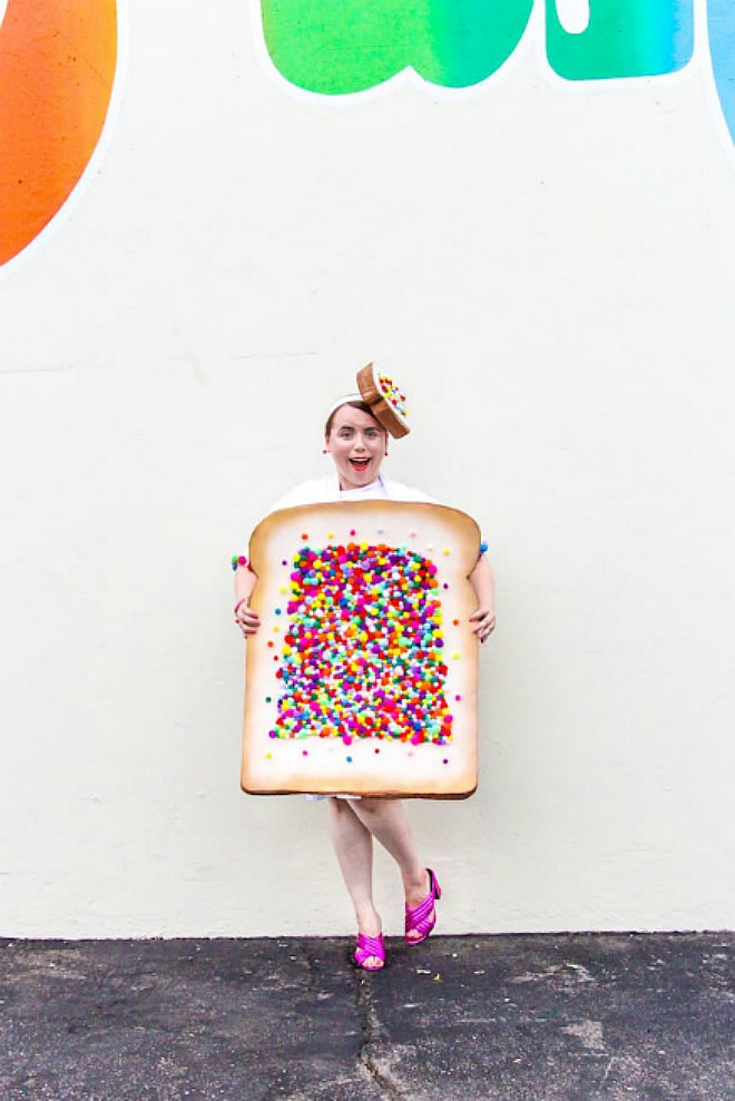 Easy DIY Fairy Bread Costume