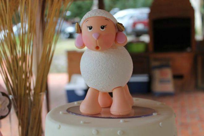 Lamb themed birthday party