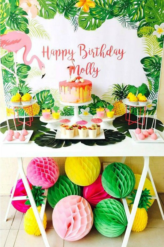 Flamingo Birthday Party That Will Have The Kids Stand In