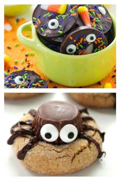 Super fun Halloween chocolate treats