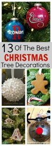 """13 of the best Christmas Tree Decorations"""" width=""""600"""" height=""""1680"""" data-pin-description=""""Why not try your hand at a bit of DIY and create your own Christmas tree decorations this year. This selection is all easy and fun to make, they and are great for kids to get involved in. They will make a fantastic holiday activity which you can enjoy year after year. With different themes to try, there is something that everyone will love."""
