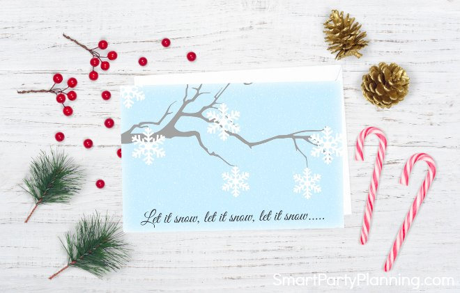 Christmas card style 2