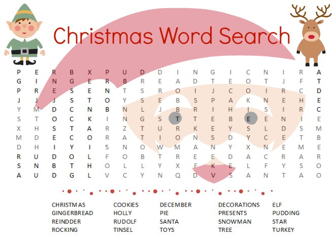 The Best Free Christmas Word Search Puzzles Kids Will Love