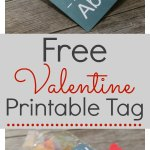 Free Valentine Printable Tag