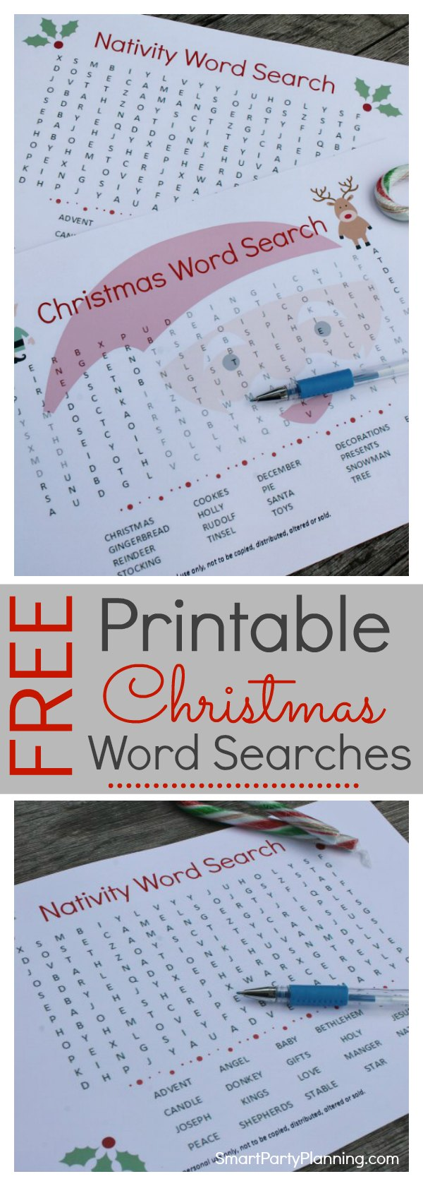 Printable Christmas word search puzzles are the perfect solution for an activity for the kids at home or in the classroom. Not only are Christmas word search puzzles fun, but they are also educational too.  Let the kids practice their spelling whilst they are having a whole lot of fun. There are two designs to choose from, so get yours now.  They are great for the festive season. Oh, did I mention that they are free? #Christmas #Printable #Free #Kids
