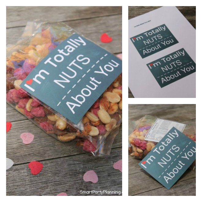 I'm totally nuts about you free Printable