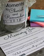 New Years Memory Jar