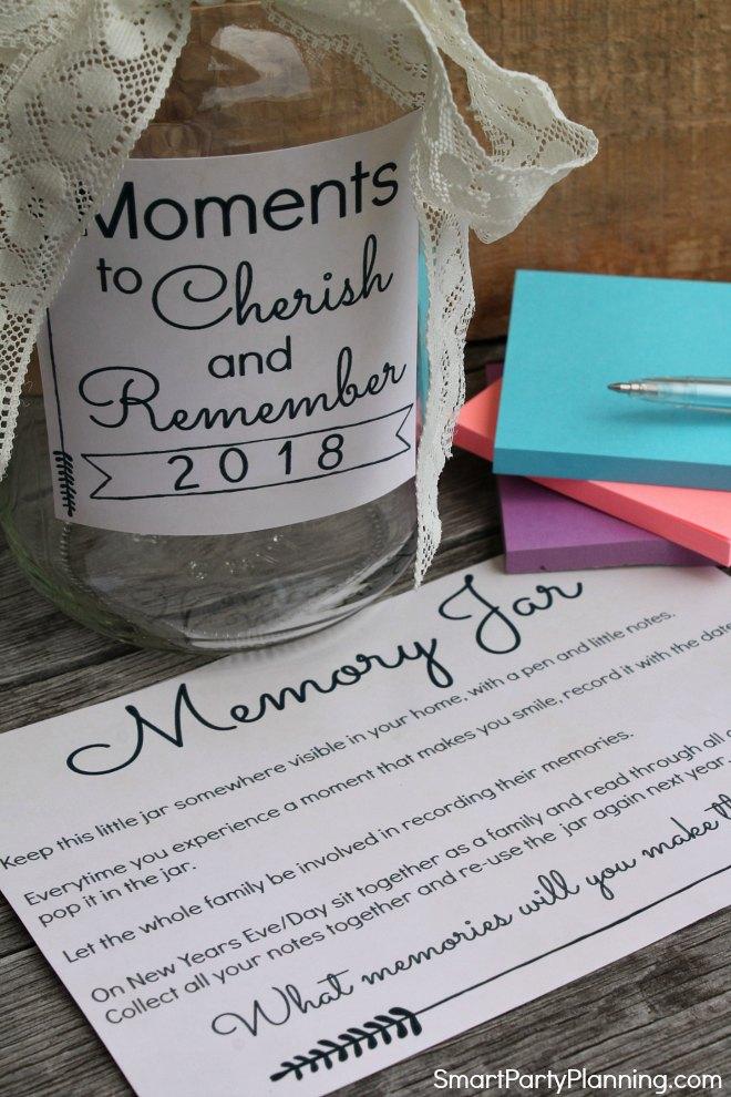 Moments to cherish memory jar How To