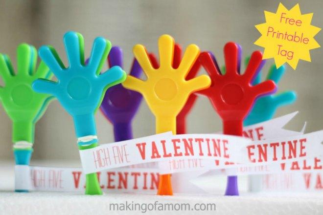 High Five Valentine Hand Clapper