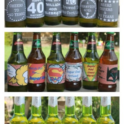 The Best Beer Labels For All Occasions. Easy, Affordable & Fun