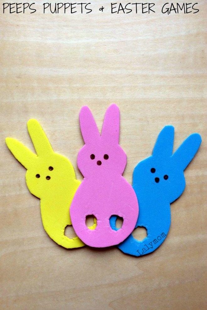 Easter Peeps Puppets