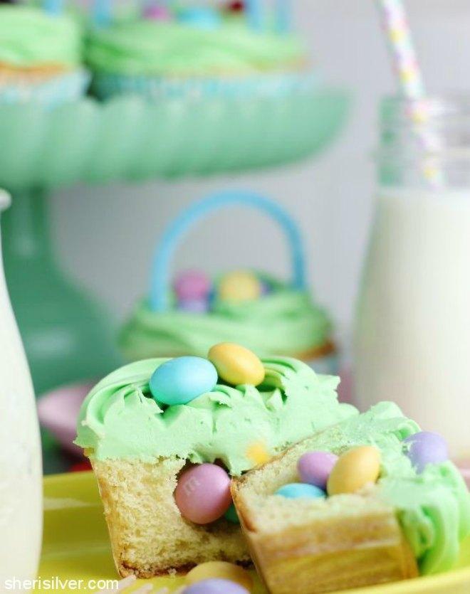Surprise Cupcake baskets