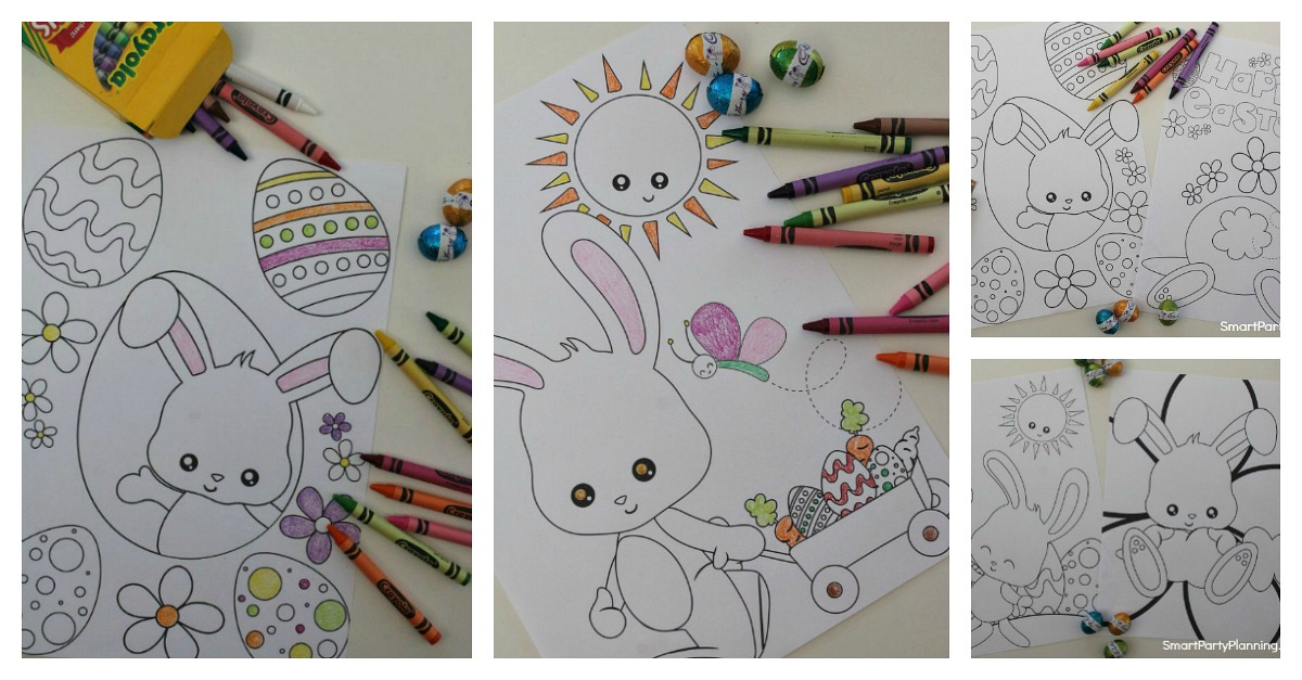 Awesome Easter Bunny Coloring Sheets You'll Want To ...