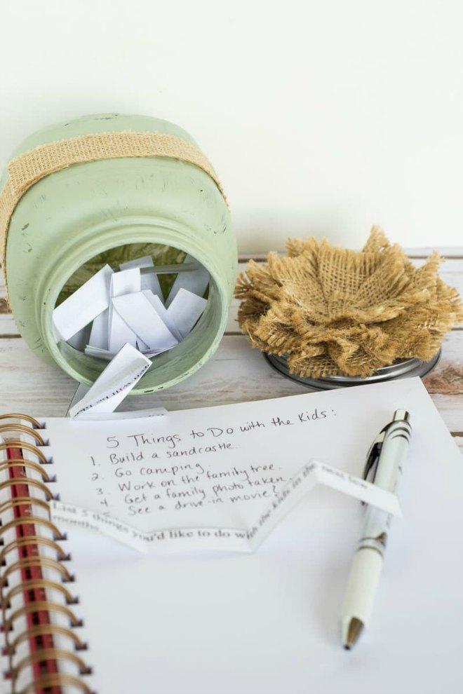Motherhood Journal Jar