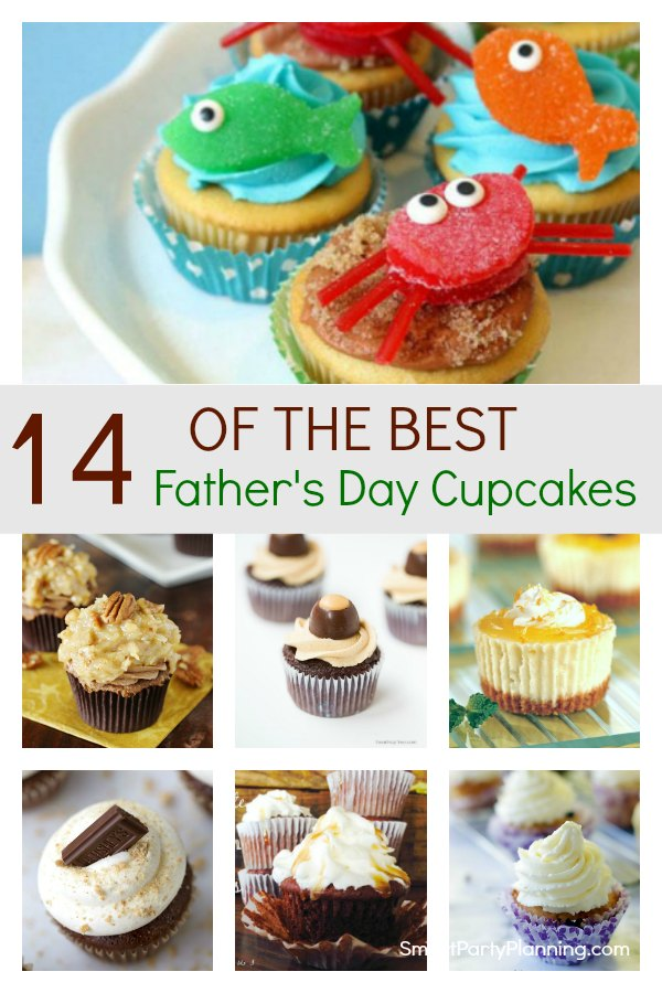 Delicious selection of easy father's day cupcakes that dad will absolutely love. With different flavors and toppers, there is something to suit all tastes, including ones that the kids will enjoy too. These treats will be perfect for spoiling dad on father's day. #Fathersday #Cupcakes #Dad #Sweet #Treat #Recipe #Tutorial #Easy