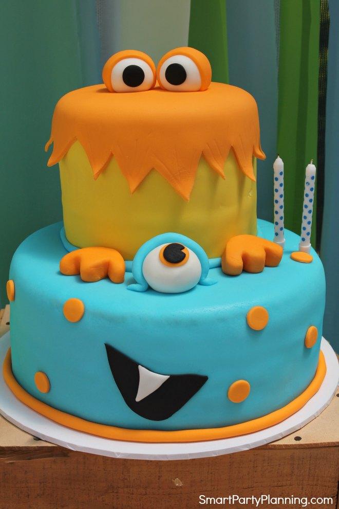 Monster birthday cake
