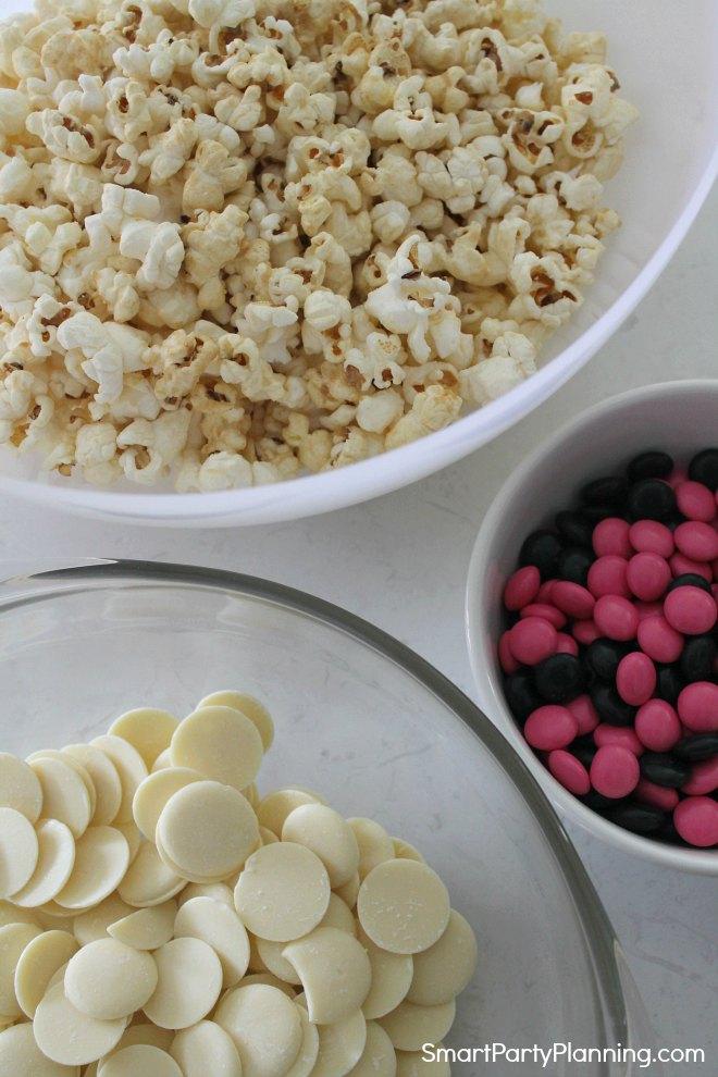 Rock Star Popcorn Ingredients