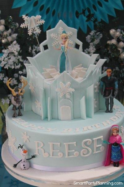 Frozen Party Birthday Cake