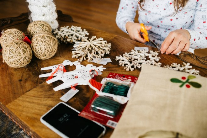 crafts for a kids Christmas party