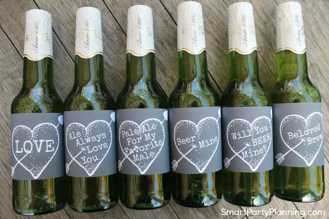 Best beer labels chalkboard