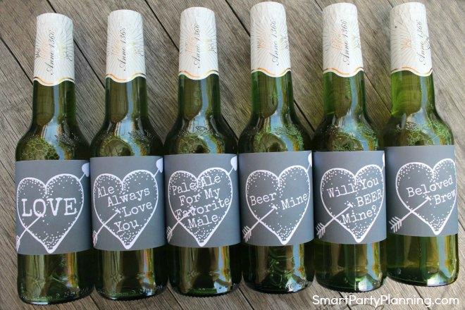 Best beer labels chalkboard